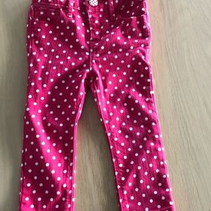 Baby gap pink skinny fit size 18to 24 M